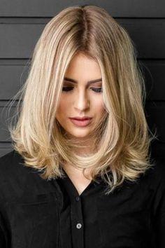 Medium Long Hair, Medium Hair Styles, Short Hair Styles, Long Bob Styles, Brown Blonde Hair, Blonde Wig, Cute Simple Hairstyles, Cute Medium Length Hairstyles, Gorgeous Hairstyles