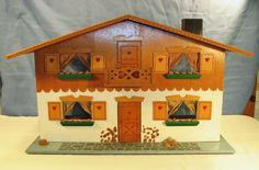 VINTAGE Dora Kuhn 1960's Doll House with Furniture West Germany FAO Schwarz | eBay