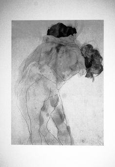 Auguste Rodin Two Embracing Figures Graphite with grey and yellowish-brown wash on white wove paper Ashmolean Museum Auguste Rodin, Pierre Auguste Renoir, Rodin Drawing, Painting & Drawing, Life Drawing, Figure Drawing, Art And Illustration, Figurative Kunst, Art Watercolor