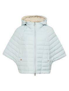 Купить со скидкой Odri голубая стеганая куртка-летучая мышь на молнии (48279) – распродажа в Боско Аутлет