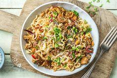 Wok, Cookbook Recipes, Macaroni And Cheese, Cooker, Dinner Recipes, Good Food, Vegetarian, Favorite Recipes, Vegan