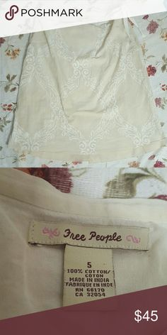 Free People Skirt With Bow Ribbon Tie Great condition Free People Skirts