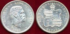World Coins - HAWAII 1883  25c .....   MS62  UNCIRCULATED