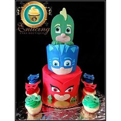 pj mask cakes - Google Search