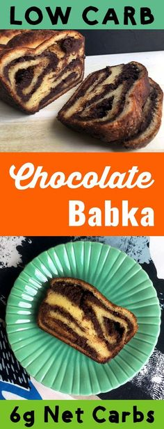 This recipe is a low carb and Keto take on chocolate babka, an Eastern European dessert bread. It's made with a sugar free chocolate filling and a Fat Head dough. It's so tasty. It's also Ketogenic, Atkins, Banting, THM-S, LCHF, Grain Free, Gluten Free and Sugar Free compliant. #resolutioneats #lowcarb #keto #dessert #chocolate #sugarfree