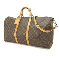 Louis Vuitton Keepall Bandouliere 60 Travel Duffle Carry On Suitcase Luggage. Monogram Canvas Travel Bag. Save 43% on the Louis Vuitton Keepall Bandouliere 60 Travel Duffle Carry On Suitcase Luggage. Monogram Canvas Travel Bag! This travel bag is a top 10 member favorite on Tradesy. See how much you can save