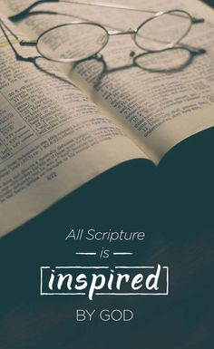 2 Timothy 3:16. Wycliffe's devotional book helps you discover what others have learned through encounters with God's Word: https://villageshop.myshopify.com/collections/books/products/when-gods-word-speaks?variant=25816085891&utm_source=social&utm_campaign=PINshopWGWS&utm_medium=PIN