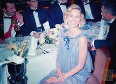 """Royal Couture"": Karolina Kurkova as Princess Grace of Monaco by Miles Aldridge for Vogue Italia Couture Supplement."