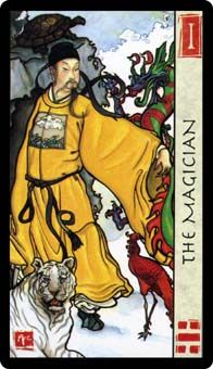 View the The Magician in the Feng Shui Tarot deck on Tarot.com