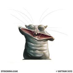 Episode 013 #sketch #illustration #art #hamster #animals #mouse #hate #badboy #stricnino #water #disaster