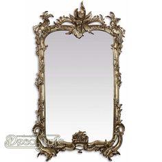 barok spiegel rond goud barok spiegel rond goud aan de. Black Bedroom Furniture Sets. Home Design Ideas