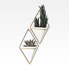 lojaMO.D - Vasos de parede Trigg - 2 peças pequeno