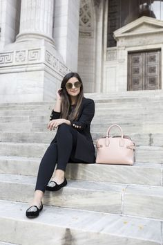 My New Fall Uniform by New York fashion blogger Pink Champagne Problems
