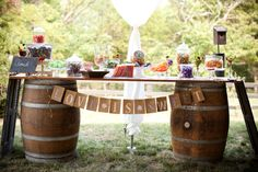 Rustic Candy Bar/ or for regular bar