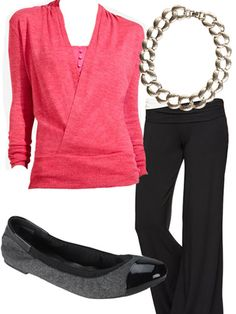 Comfy office outfit