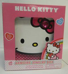 "Sanrio ""Hello Kitty"" Amoire Jewelry Box   eBay"
