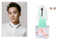 """""""kpop inspired"""" by musicmediastyle on Polyvore featuring MANGO"""