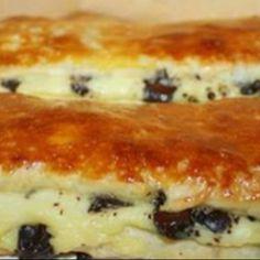 Brioche suizo con crema pastelera y pepitas de chocolate