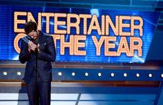 Luke Bryan winning Entertainer of the Year.  Gotta love Luke!