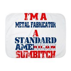 Metal Fabricator Baby Blanket