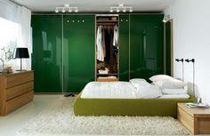 Dormitorios con algo de verde