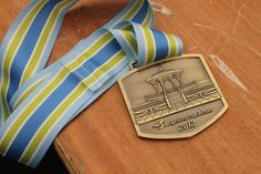 A well-deserved finisher's medal.