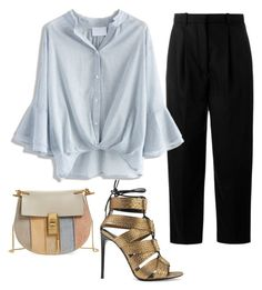 A fashion look from November 2016 featuring stripe shirt, Acne Studios and leather sandals. Browse and shop related looks. Acne Studios, Tom Ford, Beige, Shoe Bag, Polyvore, Stuff To Buy, Shopping, Collection, Women