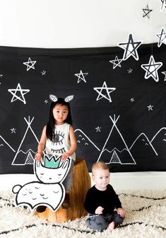 Harlow & Grey Preview: party ware for modern kids - Paul & Paula