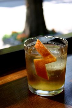 New Fashion-ista Cocktail #cocktail #recipe #greatist
