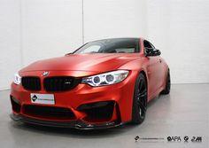 BMW M4 wrapped in APA Satin Red Chrome. #BMWM4 #M4 #Msport #Performance #APA #APASatinRedChrome #SatinChrome #wrapkings #vinylmasters #Germanwhip #GlossBlackDetailing #Timelaspe #Video #VWC #thevehiclewrappingcentre #vehiclewrapping #vinylwraps #vinyl #wraps #wrapping #carwrap #carwrapping #customwraps #leeds #manchester #wrappedchannel #wrapworld #wraplocator