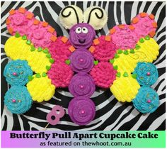 Pull-Apart Cakes - Butterfly Cake thewhoot.com.au/media/slider/pull-apart-cupcake-cakes