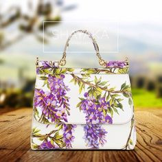 Dolce & Gabbana Miss Sicily Floral-Print Satchel Bag | Available for Pre Order  For purchase inquiries, please contact sales@shayyaka.com or +961 71 594 777 ( SMS, WhatsApp, or iMessage) or Direct Message on Instagram (@Shayyaka). Guaranteed 100% Authentic | Worldwide Shipping | Bank Transfer