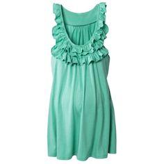 Merona® Maternity Sleeveless Ruffled Knit Top - Assorted Colors