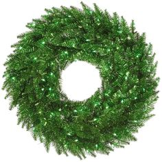 The gorgeous Vickerman Tinsel Green Pre-lit Wreath makes a valuable addition to any holiday decor. The crisp round PVC wreath is pre-lit with green. Pre Lit Wreath, Christmas Wreaths With Lights, Lighted Wreaths, Artificial Christmas Wreaths, Christmas Decorations, Green Garland, Green Wreath, Champagne