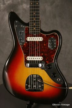 Fender pre-CBS Jaguar w/Hang Tag 1963 Sunburst