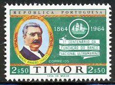 Timor Portuguêse Stamp