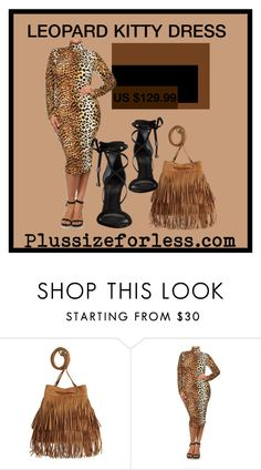 """PLUSSIZEFORLESS"" by plussizeforless ❤ liked on Polyvore featuring H&M and Schutz"