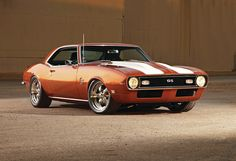 1968 Chevrolet Camaro SS Pro Touring by ~Vertualissimo on deviantART