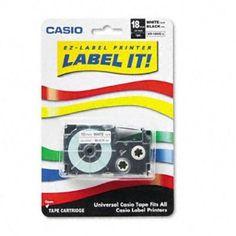 Casio Inc. XR18WES Wireless Monochrome Printer by Casio. $20.48. 3/4-Inch x 26-Feet