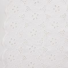 Broderie Anglaise crème Insouciant Flower x10cm Flowers, Pattern, Inspiration, Couture, Fabrics, Haberdashery, Biblical Inspiration, Patterns, Haute Couture