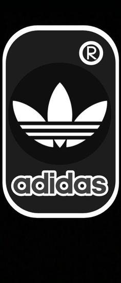 Adidas Logo, Logos, Black And White, Converse, Bags, Company Logo, Wallpaper Backgrounds, Black N White, Logo