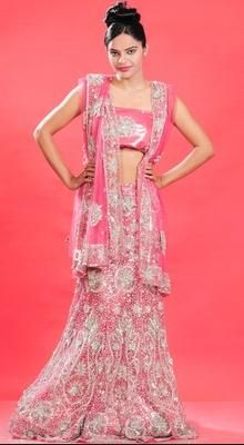 Aesthetic Deep Pink Lehenga Choli