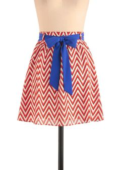 ModCloth: In With the Breeze Skirt