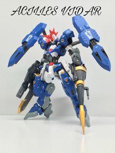 Custom Build: HG 1/144 Achilles Vidar - Gundam Kits Collection News and Reviews