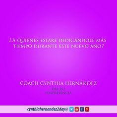 Día 352. En Presencia! En que personas me estaré enfocando este año. #2day #coaching #cynthiahernandez2day #enpresencia #instaquote #coaching #godspurpose #change #exito #tupuedes #journeyofachampion #dreams #metas #lifecoaching
