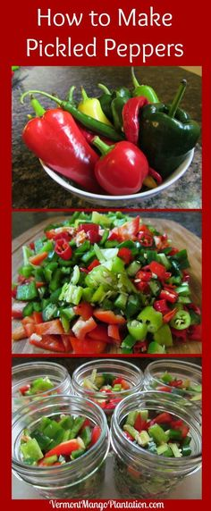 Pickled Pepper Recipe for Home Canning Home Canning Recipes, Cooking Recipes, Pickled Pepper Recipe, Pickled Eggs, Canning Peppers, Tomato Canning, Easy Canning, Canning 101, Pressure Canning