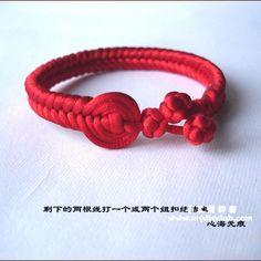 Crochet Bracelet Knot - Tutorial
