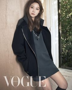 Gong Hyo Jin's Winter Pictorial For Vogue Korea's November Issue + Additional 2econd Floor F/W 2014 Visuals | Couch Kimchi