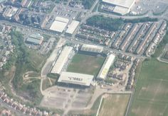 #BoundaryPark #Stadium the home of #OldhamAthletic #AFC in #Oldham #GreaterManchester #England. #Aerial #photo taken from the right side of a #Ryanair #flight from Dublin en-route to Leeds. #landscape  #IgersManchester #England #IgersEngland #IgersUK #travel #tourism #tourist #leisure #life #earth #flying #geography #sport #fact #Football #soccer #OAAFC #Latics