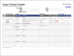 Get project status report template excel exceltemple for Project management contact list template